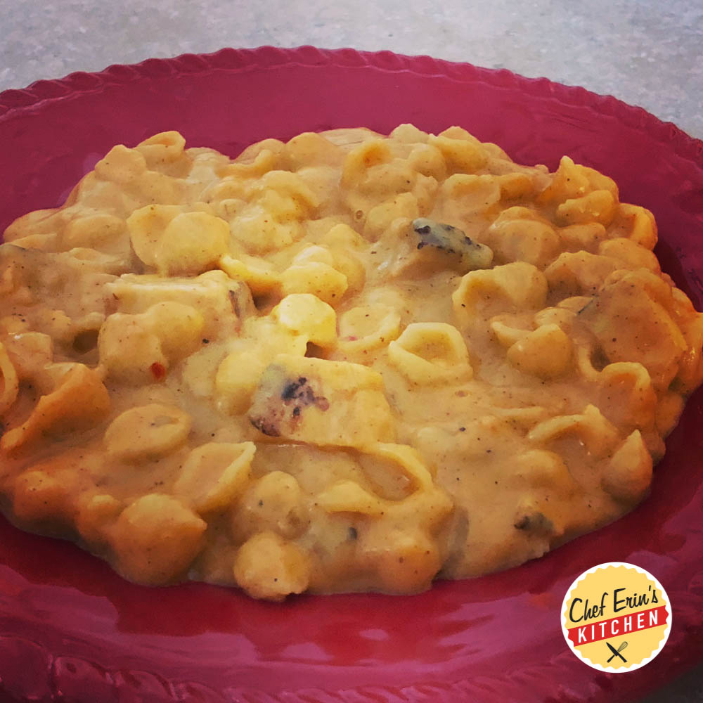 taco chicken mac 'n cheese