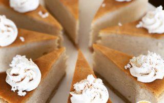 coquito cheesecake