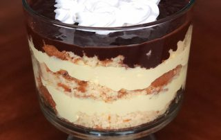 boston creme trifle