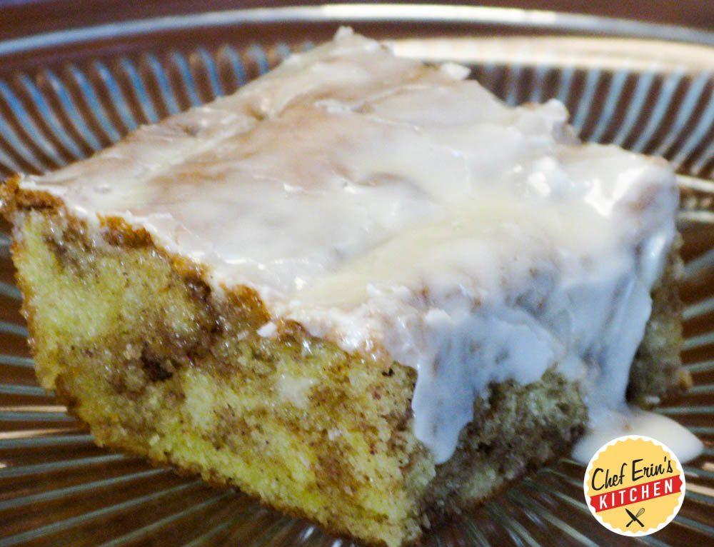 Grandma's Cinnamon Bun Cake