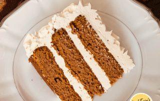 dairy-free keto pumpkin cake