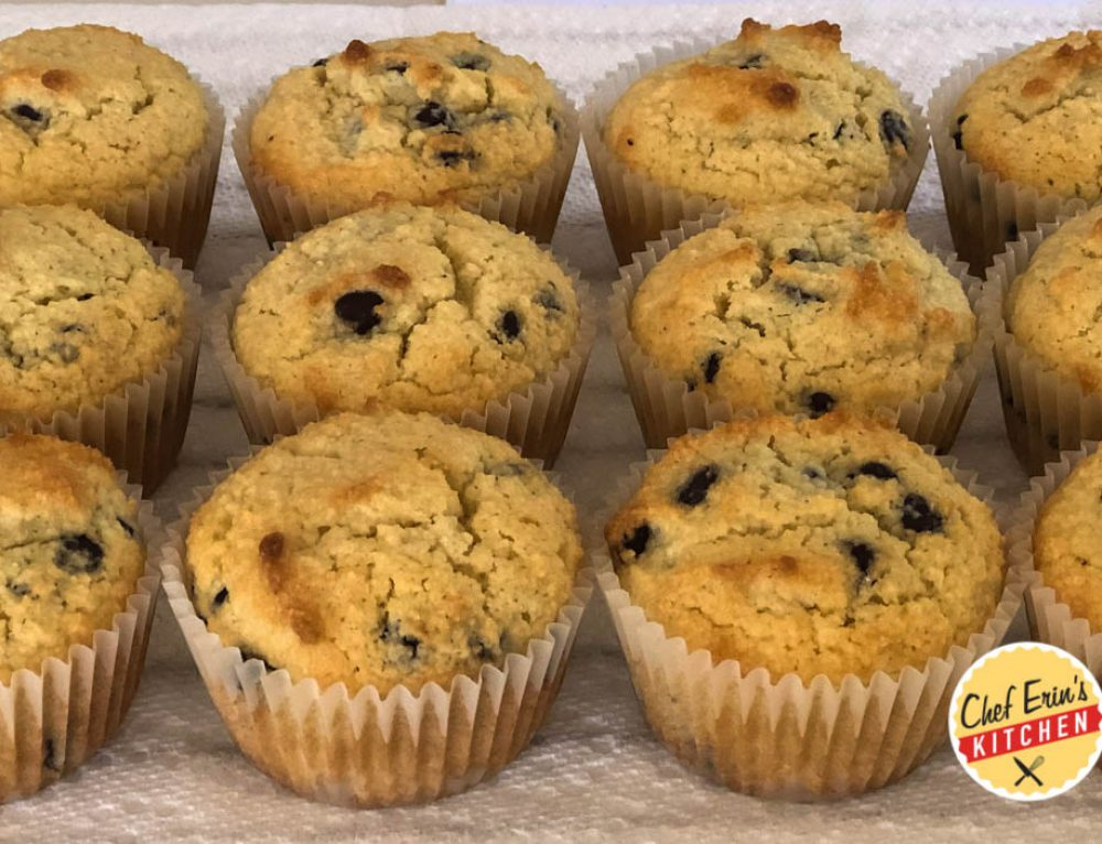Dairy-Free Keto Chocolate Chip Muffins